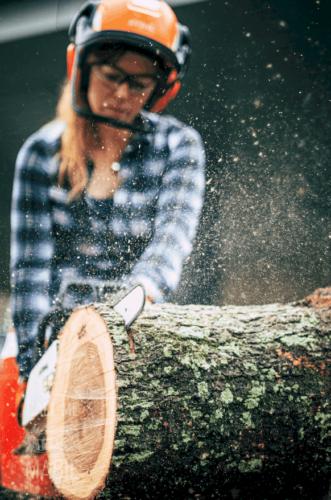 april wilkerson chainsaw stihl