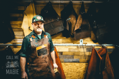 calavera tool works michael williams apron leather